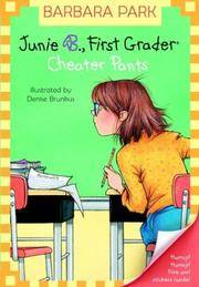 Junie B First Grader Cheater Pants