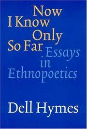 Dell Hymes Bibliography | RM.