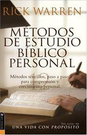 Personal Bible Study Methods