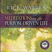 Meditations On the Purpose Driven? Life