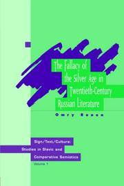 9789057025501 - Fallacy Of The Silver Age In Twentieth-Century ...
