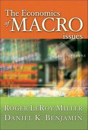 Economics Of Macro Issues The
