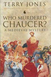 Who Murdered Chaucer? A Medieval Mystery